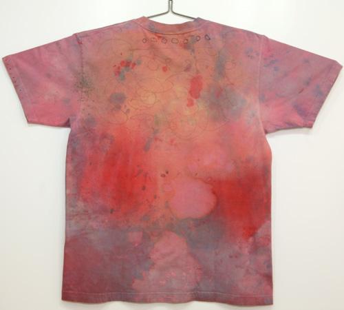 むら染めコラージュTシャツ(Men's M)022