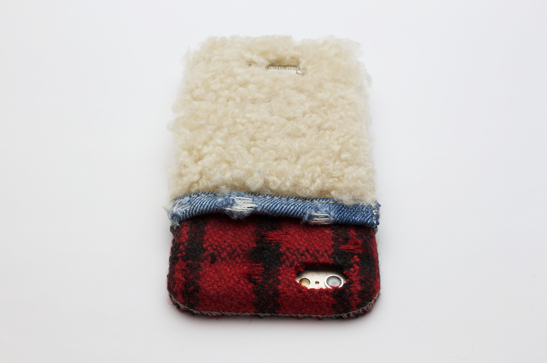 デニム製iPhoneケース