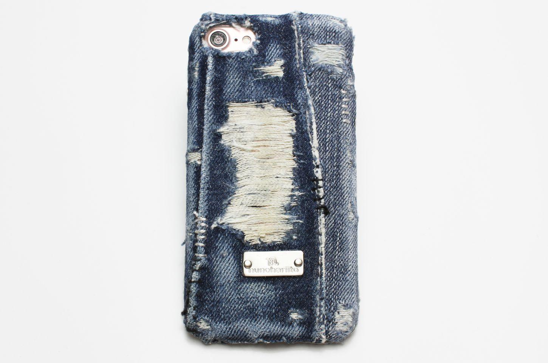 デニムiPhone・スマホケース